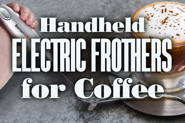Handheld Electric Frothers For Coffee